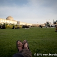 Relaxing in Esfahan