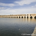One of the famous bridges of Esfahan