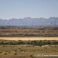 Landscape between Mashad and the Turkmen border