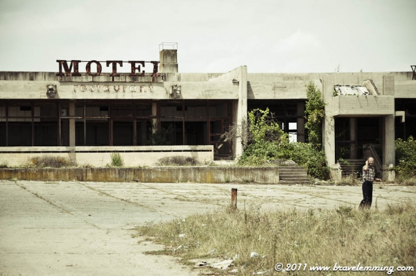Remains of a Motel