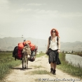 She was carrying our camping gears and about 20 kilos of food for the mountains...