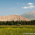 Landscape of Central Kyrgyzstan