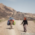 Walking to Song Kul Lake