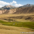 Landscape on the way to Song Kul