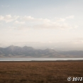 Amazing panorama of Song Kul Lake