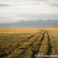 Path to Song Kul Lake