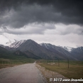 Stormy weather over the Pamir mountains