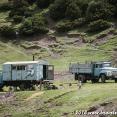 Soviet trucks in Kyrgyztan