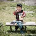 Kyrgyz little boy