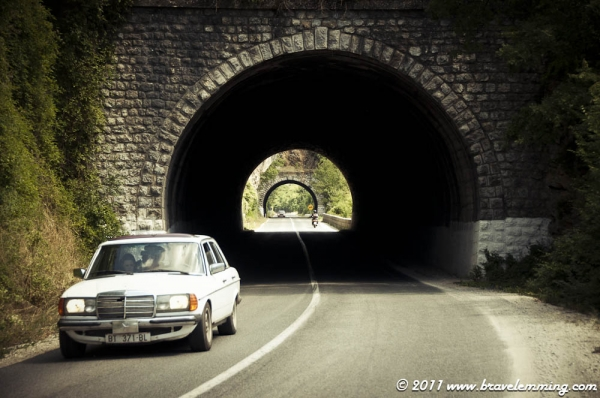 Tunnels on the road to Bitola