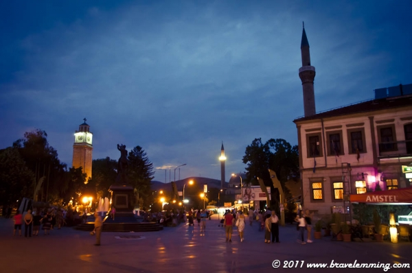 Bitola by night