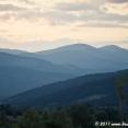 Dusk on the mountains