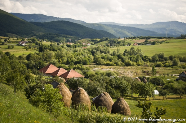 Landscape in Northern Montenegro