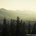 Sunset on the Tatras