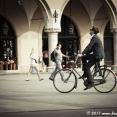 Cycling man...