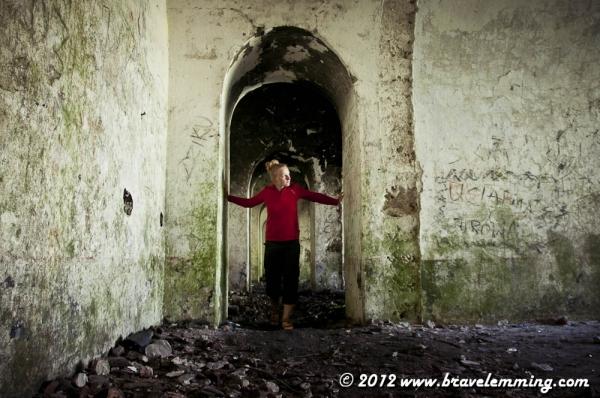 Exploring forts of the WWI near Przemysl