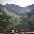 Lake of Czarny Stan Gąsienicowy in the Polish Tatras
