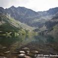 Lake of Czarny Stan Gąsienicowy in the Polish Tatras
