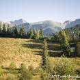 View of the Tatra mountains from Zakopane