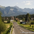 Cycling near the Polish Tatras