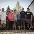 With Szymon's family