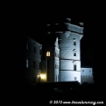 Krasiczyn Castle by night