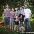 Our host's family near Przemysl