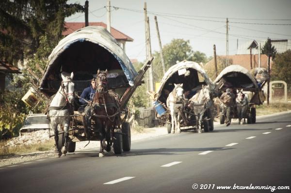Gypsies on the road