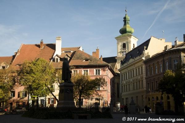 Sibiu, in Transylvania