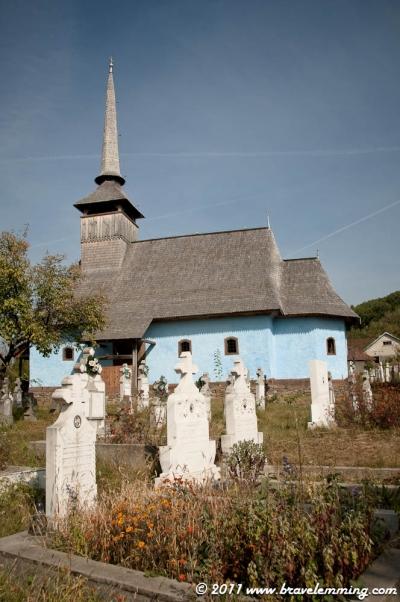 A church in Transylvania
