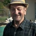 Smiling romanian farmer