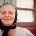 Portrait of a romanian woman in Transylvania