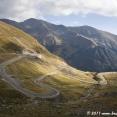 Transfagarasan, a scenic road across the Carpathians