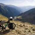 2034m ! After 60 kms of mountain I am on top of the transfagarasan