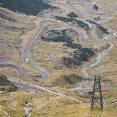 The northern side of the Transfagarasan... 30 kilometers of downhill !
