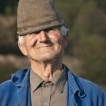 Portrait of a romanian farmer