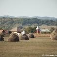 Romanian Landscape on the road to Oradea