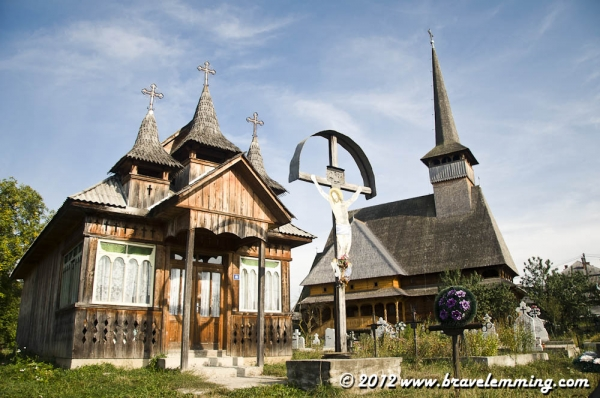 Beautiful wooden church in Maramures
