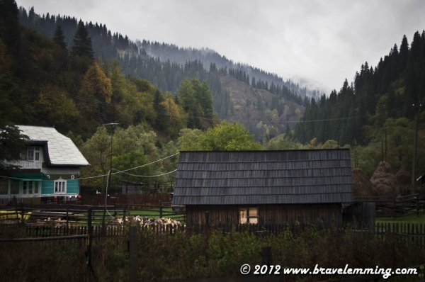 Rainy days in Bistrita valley