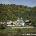 A village in Bistrita valley