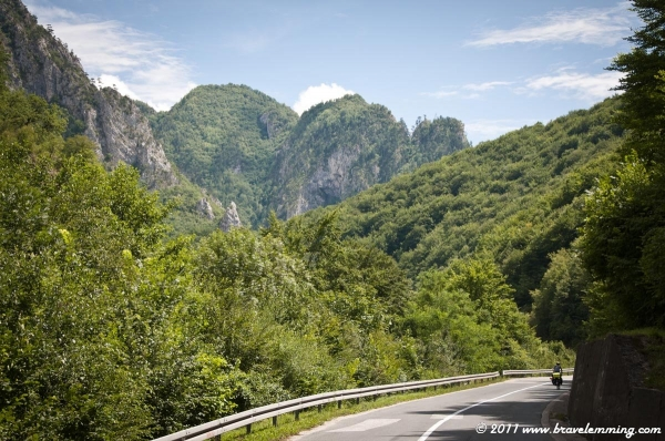 On the way to Montenegro