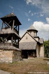 Orthodox monastery near Čačak
