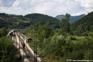 Railway in the hills