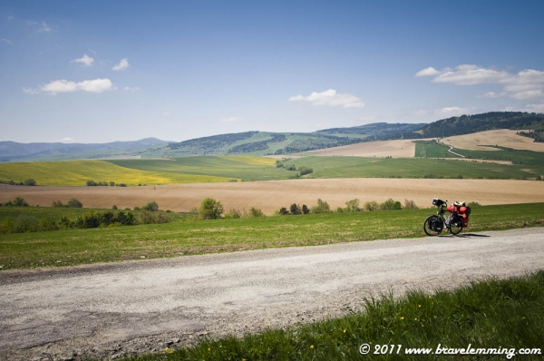 Landscape of Eastern Slovakia