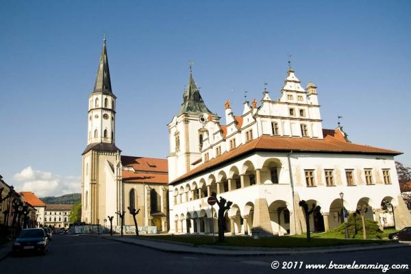 Levoča, in Central Slovakia