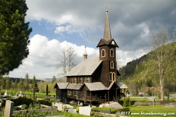 Javorina's Church in the Tatras