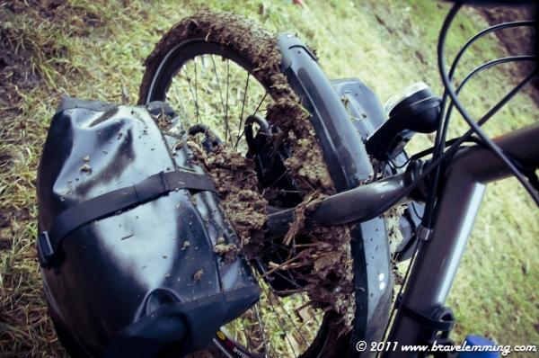 Kind of muddy shortcut...