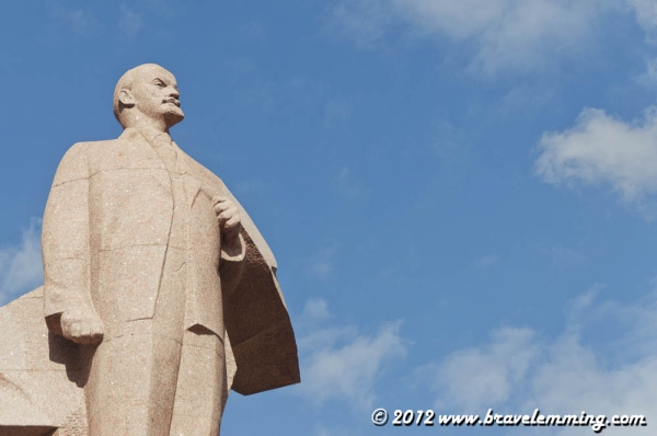 Statue of Lenin in Tiraspol