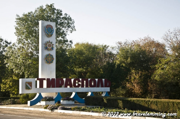 Leaving Tiraspol