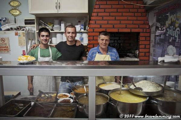 Great cooks in Kesan